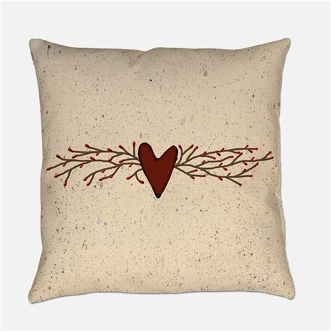 Country Pillows by Country Primitive Pillows Country Primitive Throw Pillows
