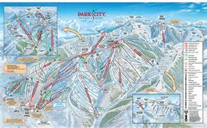 Utah Ski Resorts Map by Park City Winter Resorts Park City Mountain Resort Utah