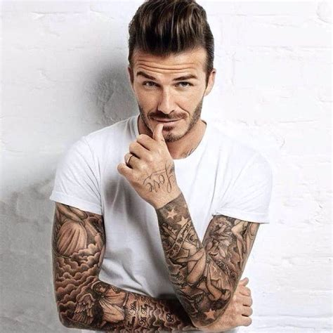 david beckham got 2 new tattoos added to his collection