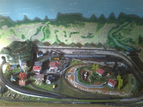 train layout blog layout photos sent in by richard model train help
