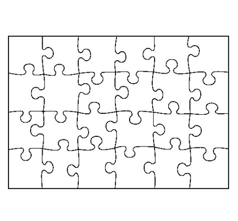 Puzzle Coloring Page Free Coloring Pages And Puzzles