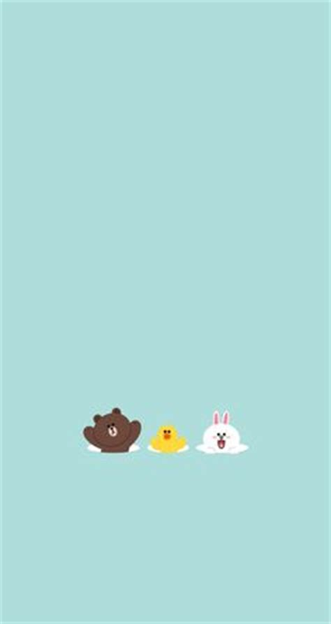 Correction Brown Cony Sally line deco sally cony pattern wallpaper and illustrations