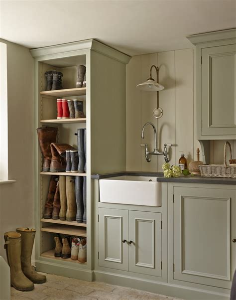 Kitchen Paint Ideas With Oak Cabinets give your utility room a scullery chic makeover the room