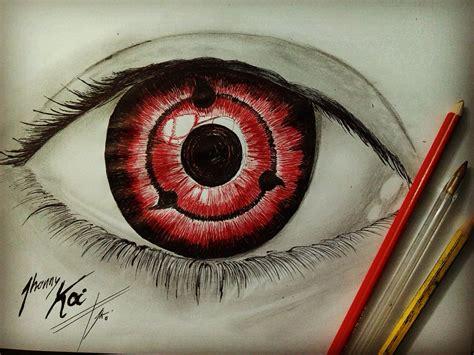 imagenes de ojos sharingan como dibujar sharingan realista naruto youtube