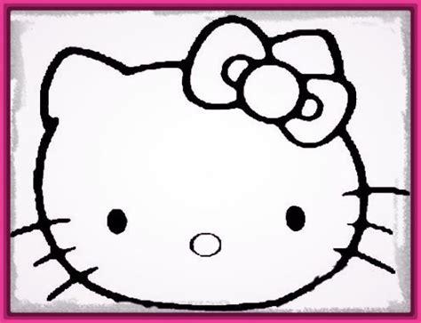imagenes de hello kitty la cara dibujo cara hello kitty para imprimir archivos imagenes