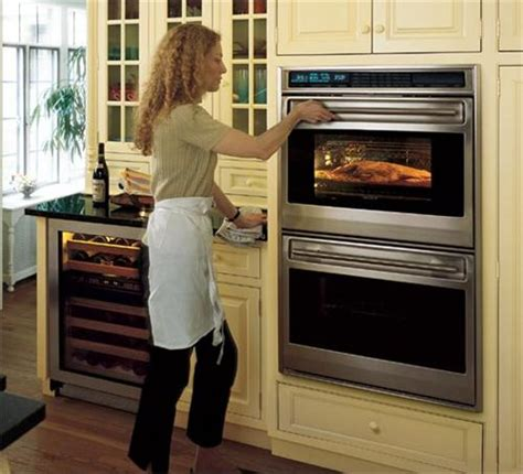 Black Built Ins 30 quot built in double oven l series framed from wolf