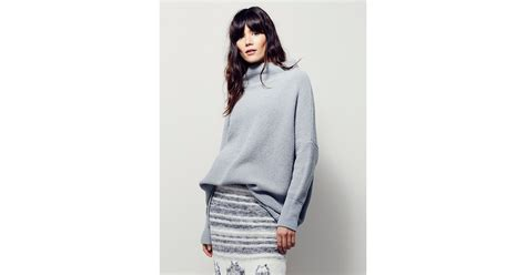 free people ottoman slouchy tunic free people ottoman slouchy tunic in gray lyst