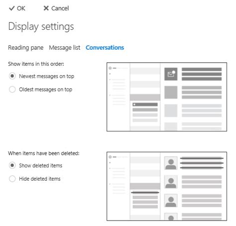 Office 365 Outlook Disable Conversations Disable Conversation View In Outlook On The Web Owa Or