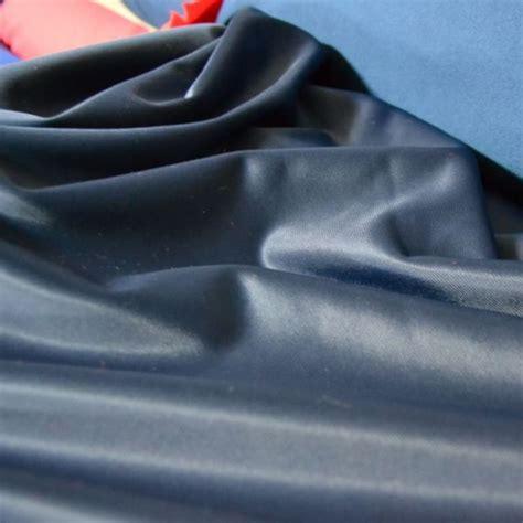 tessuto acetato blu blu prezzo al metro