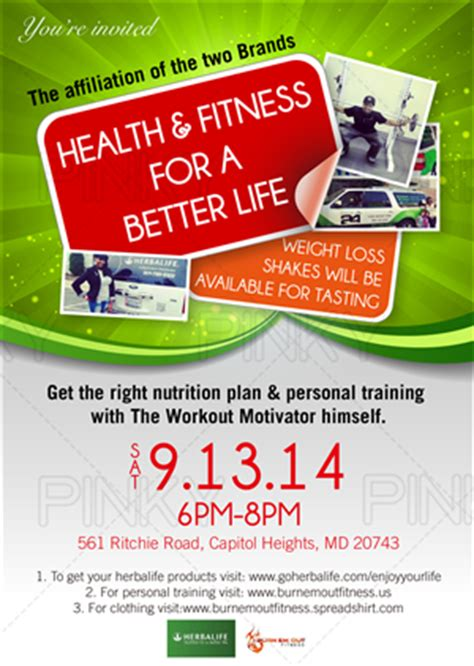 Nutrition Club Flyer Template Herbalife Design Galleries For Ianswer Herbalife Leaflet Templates