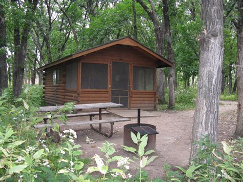 187 four cer cabins coming to lake bemidji state park