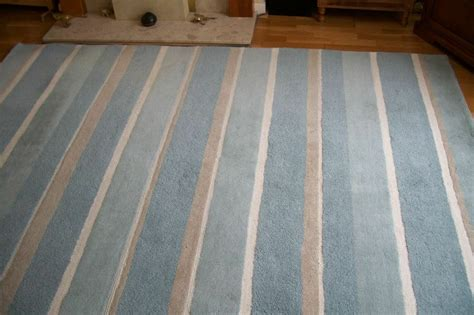 Layra Ashley Bexley Rug in duck egg blue   in Epsom