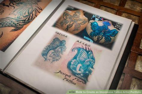 how to create a tattoo design how to create an impressive artist portfolio 8 steps