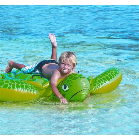 Pool Toys intex sea turtle ride on swimming pool intex from discount leisure products uk
