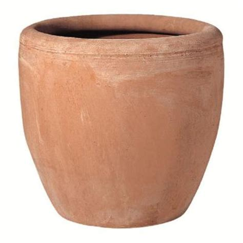 home depot clay pots norcal pottery 16 in blush terra cotta egg pot 100021097