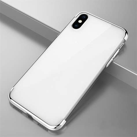 Plating Phone Iphone X iphone x plating transparent phone cover