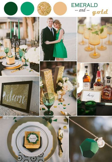Emerald Wedding Theme on Pinterest   Emerald Green
