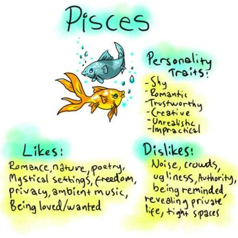 pisces personality quotes quotesgram