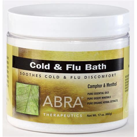 Detox Bath Cold Flu by 021204160000 Upc Abra Therapeutics Cold Flu Bath 17