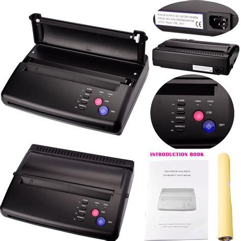 tattoo stencil printer uk 110 220v tattoo stencil transfer flash copier thermal