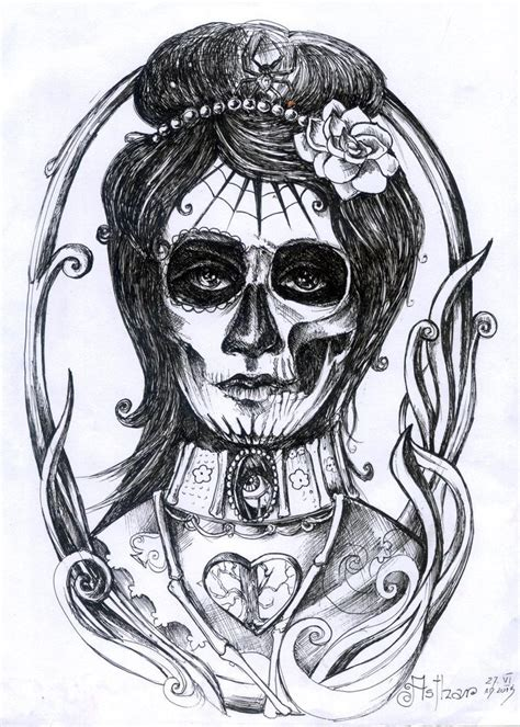 santa muerte tattoo design santa muerte by artofasthar on deviantart