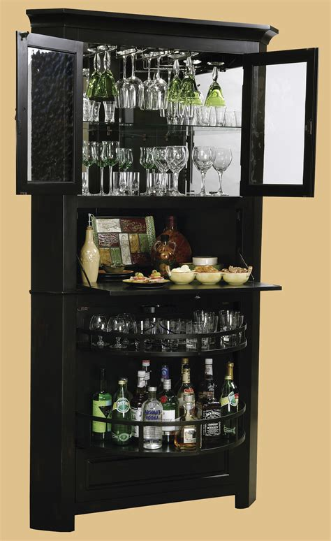 Wine Glass Cabinets Furniture by Howard Miller Cornerstone Estates Wine Cabinet In Worn