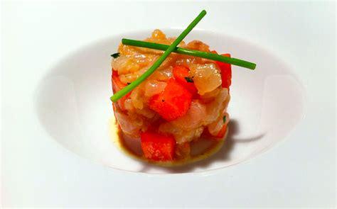 come cucinare la cernia ricetta tartare di cernia con anguria un antipasto