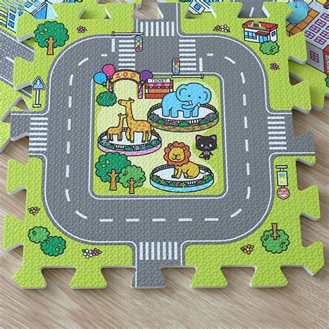 Jigsaw Puzzle Rug by 9pcs Children Play Mat Foam Jigsaw Puzzle Carpet