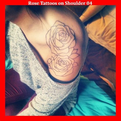 rose vine tattoos on shoulder 45 best tattoos images on small