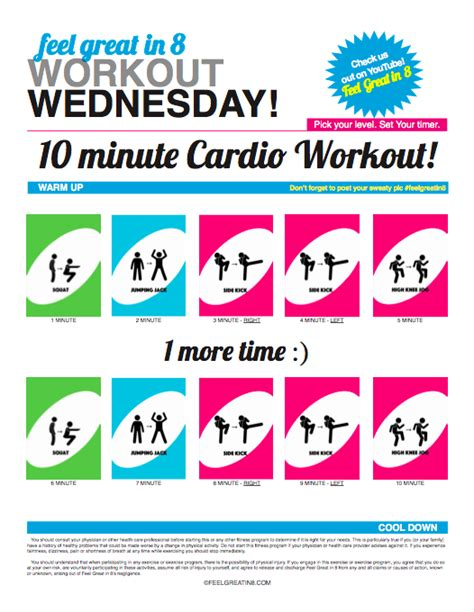 10 min cardio pictures to pin on pinsdaddy