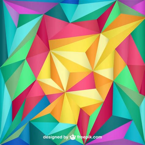 triangles abstract wallpaper vector