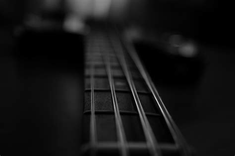 guitar wallpaper black and white hd bass guitar wallpapers wallpaper cave