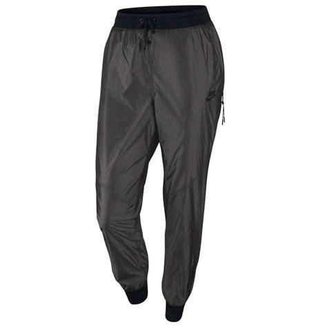 girls gray and black joggers pants nike women s woven t2 pants sweatpants joggers pants grey