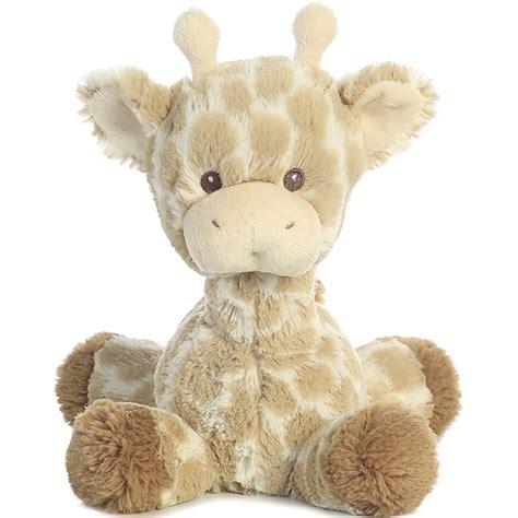 The Giraffe Rattle baby safe plush giraffe rattle stuffed safari