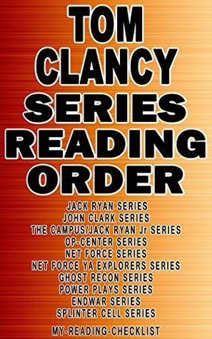 tomcat my reading tom clancy series reading order by my reading checklist