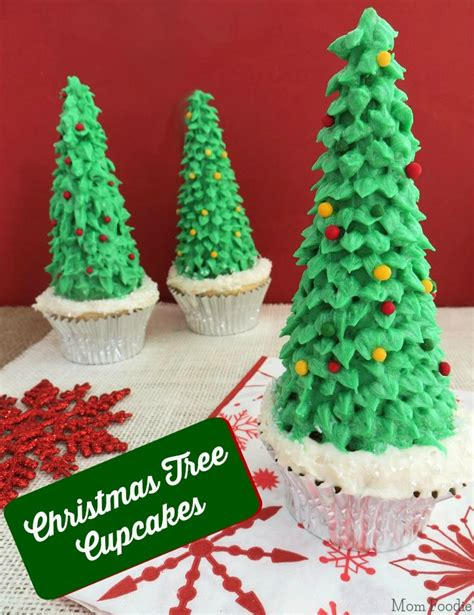 how to make christmas tree cupcakes mom foodie
