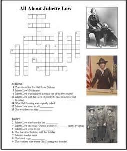 juliette low crossword puzzle makingfriendsmakingfriends
