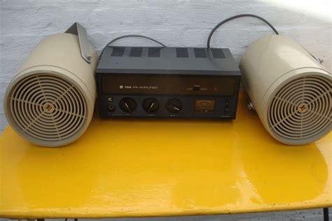 Lifier Toa 4 Speaker Vintage Toa Electric Ta 301 Pa Lifier Met Design Speakers Catawiki