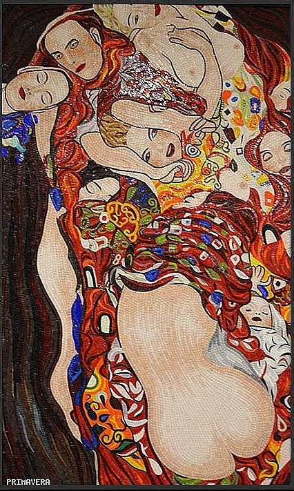la culla klimt obraz z mozaiki szklanej pocałunek obraz gustava klimta