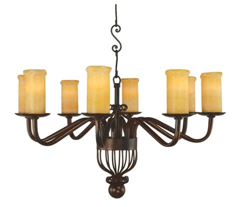 Wrought Iron Vanity Lights 8 Light Cantabria Wrought Iron Chandelier Uvslchcant8r