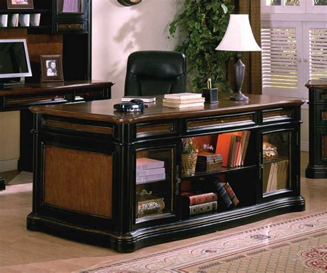 executive office desk black desk collections office furniture