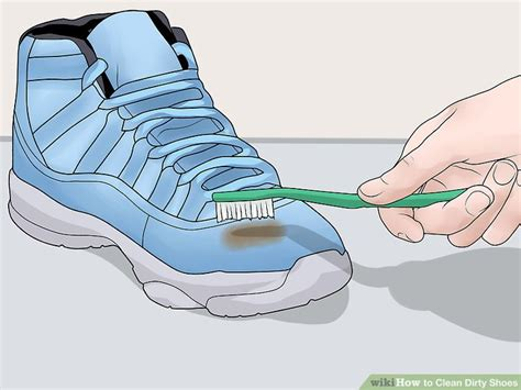7 Steps To Clean And Fresh Workout Shoes by 6 Ways To Clean Shoes Wikihow