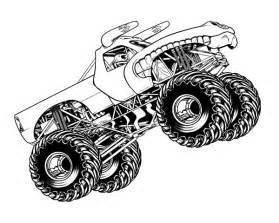 monster jam scooby doo monster truck coloring pages