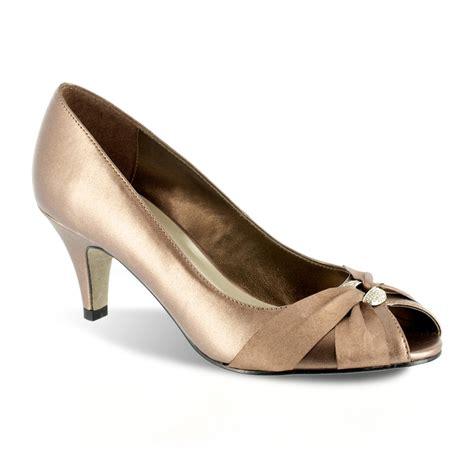 kohls shoes easy sunset narrow peep toe dress heels