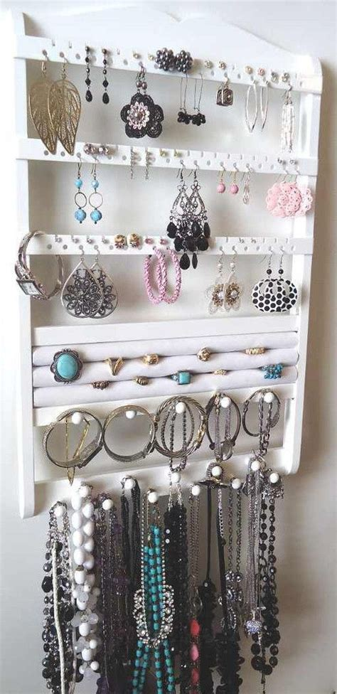 how to make a hanging jewelry organizer best 20 stud earring organizer ideas on stud