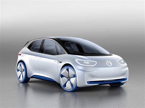 Volkswagen Car volkswagen id electric concept car motor show