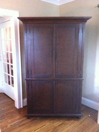 pottery barn armoires pottery barn armoire for the home pinterest