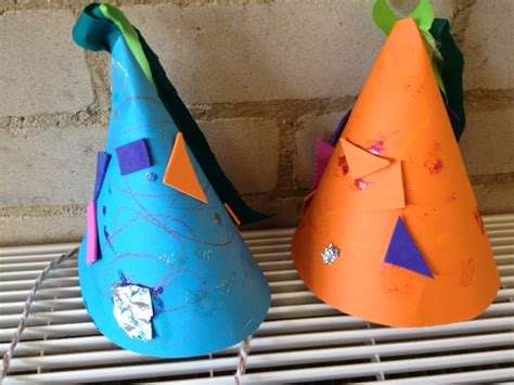 How To Make Paper Hats For Children - hat paper hat birthday celebration toddler pre