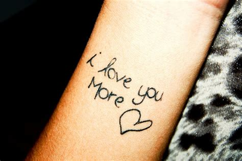 i love you tattoos 25 i you wrist tattoos