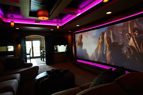 basement home theater lighting design decorating image mag